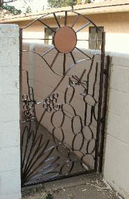 Iron Rose Custom Metal Gates