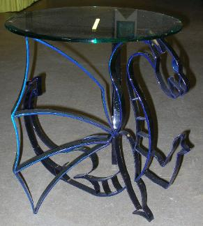 Blue Dragon Table